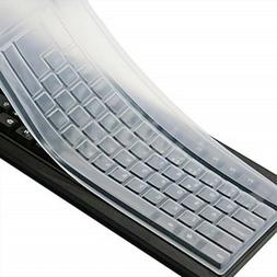CaseBuy Clear Desktop Computer Keyboard Cover Skin for PC 10
