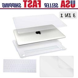 clear hard shell case keyboard cover lcd