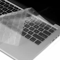 "Clear Keyboard Skin Cover for MacBook Pro 13"" 15"" 17"""