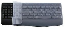 Clear Silicone Keyboard Protectors Covers guard For Logitech
