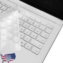 TOP CASE Clear TPU Keyboard Cover Skin Protector for Microso