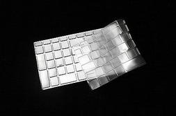 Clear Tpu Keyboard Protector Cover For HP 15z , 17z Laptop