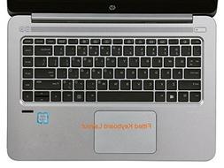 Folox Thin Transparent Waterproof TPU Keyboard Protector Cov