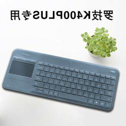 Clear Transparent Silicone Keyboard cover Protectors For Log