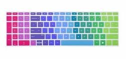 Colorful Keyboard Cover Compatible 2019 HP Envy x360 2-in-1
