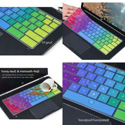 """Colorful Keyboard Cover Compatible Hp 2-In-1 12.3"""" Touch-Scr"""