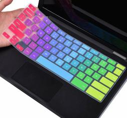 Colorful Keyboard Cover For Dell 11.6 Chromebook 3100 / Dell