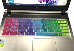 "Colorful Keyboard Cover HP ENVY X360 15.6"" Skin Protector La"