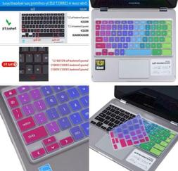 Colorful Keyboard Cover Skin Compatible Samsung Chromebook P