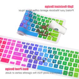 Colorful Silicone Keyboard Cover Protector For Dell Inspiron