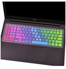 CaseBuy Colorful Silicone Keyboard Cover for Dell Inspiron 1