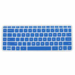 Computer Silicone Anti Dust Protector Keyboard Cover Blue fo