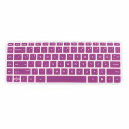 Computer Silicone Anti Dust Protector Keyboard Cover Purple