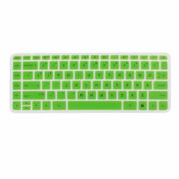 Computer Silicone Anti Dust Skin Keyboard Cover Green for HP
