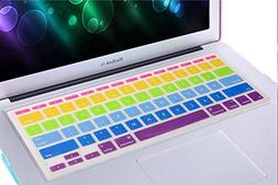 New Cool MacBook Pro RAINBOW Keyboard Cover,Crazy Panda Prem