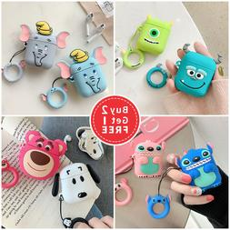 Cute 3D AirPods Silicone Case Protective Cover Skin For AirP