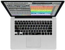 digital performer keyboard cover fits mac notebook
