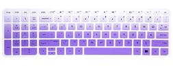"Elastic Silicone Keyboard Cover Skin for 15.6"" HP Pavilion 1"