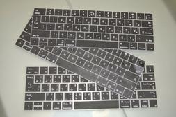 English / Arabic, Hebrew, French Canadian Silicone Keyboard