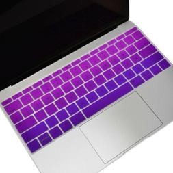 faded ombre series keyboard cover silicone skin