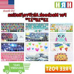Fashion Design Keyboard Cover Silicone Skin Protector for Ma