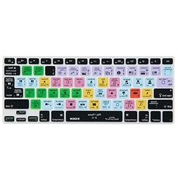 XSKN FCPX Shortcut Keyboard Skin, Final Cut Pro X 10 Silicon