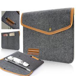 Felt Sleeve Laptop Case Cover Bag for Microsoft Surface Pro