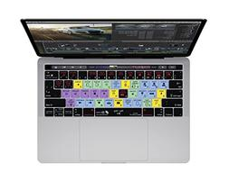 Final Cut Pro X Keyboard Cover for MacBook Pro  w/Touch Bar