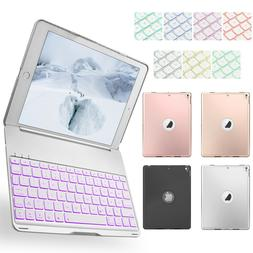 Folio Bluetooth Keyboard Smart Case Stand Cover For iPad 9.7
