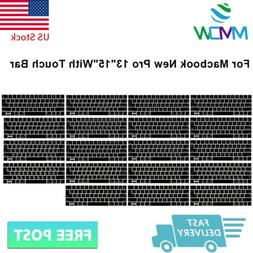 Foreign Language Silicone Keyboard Cover Skin For Macbook Pr