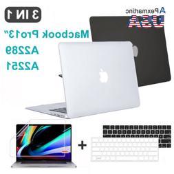 """Fr 2020 Macbook Pro 13.3"""" A2289 A2251 Shell Case Keyboard Co"""