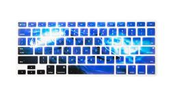Frosty Cool Wolf Personality Keyboard Cover Mac Silicone Pro