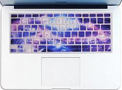 galaxy pattern texture silicone keyboard