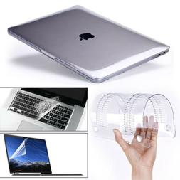 Glossy Clear Hard Shell Case+Keyboard Cover For MacBook Air