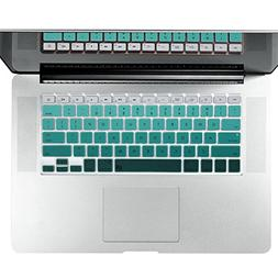 Litop Gradient Silicone Thin Keyboard Cover Skin for Apple 1