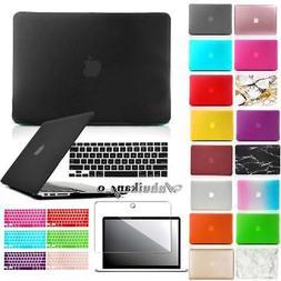 Hard Case Cover + Keyboard Skin + Screen Proctector For MacB
