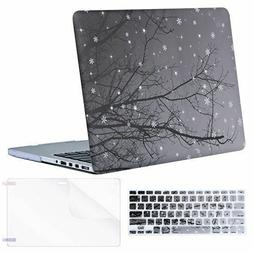 Hard Case Keyboard Cover Screen Protector for Old MacBook Pr