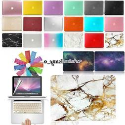 Hard Case Shell + Keyboard Cover + Screen Protector For MacB
