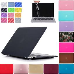 Hard Plastic Case & Keyboard Cover & Screen Protector For Ma