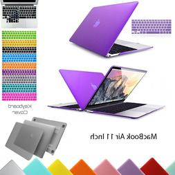 """Hard Plastic Case Shell + Keyboard Cover for MacBook Air 11"""""""