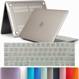 Hard Rubberized Case + Keyboard Cover For Macbook Pro Retina