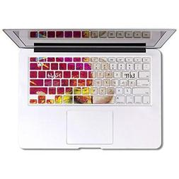 Herngee Left and Right Brain Macbook keyboard Cover for MacB
