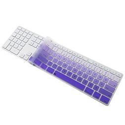 iMac Wired USB Keyboard Cover, Ultra Thin Soft Silicone Keyb