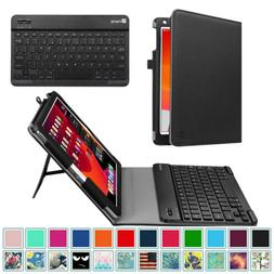For iPad 10.2 8th Gen 2020 Case Cover Stand w Detachable Blu