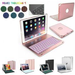 """For iPad 9th Gen 10.2"""" 2021 Case W/Backlit Keyboard w/Smart"""