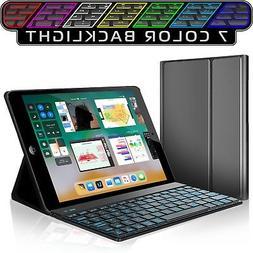 iPad Keyboard Case for New 2018 iPad, 2017 iPad, iPad Pro 9.