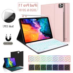 For iPad Pro 11'' 2020 & 2018 Case Stand Soft TPU Cover with