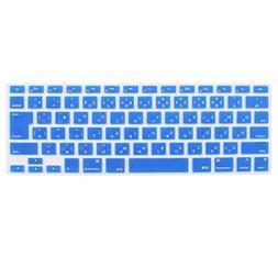 DealMux Japanese Keyboard Skin Cover Dark Blue for Macbook A