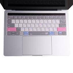 JRC - 3th Generation Shortcut MAC OS Keyboard Cover, Ultra T