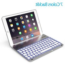 Keyboard Case for 2017 iPad 9.7 inch 5th Gen& iPad Air &2018